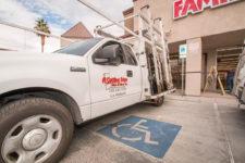 Work Vehicle – A Cutting Edge Glass & Mirror of Las Vegas, Nevada