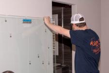 Custom Shower Door Install – A Cutting Edge Glass & Mirror