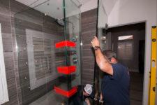 Standard 3/8″ Shower Door Enclosure System Installation