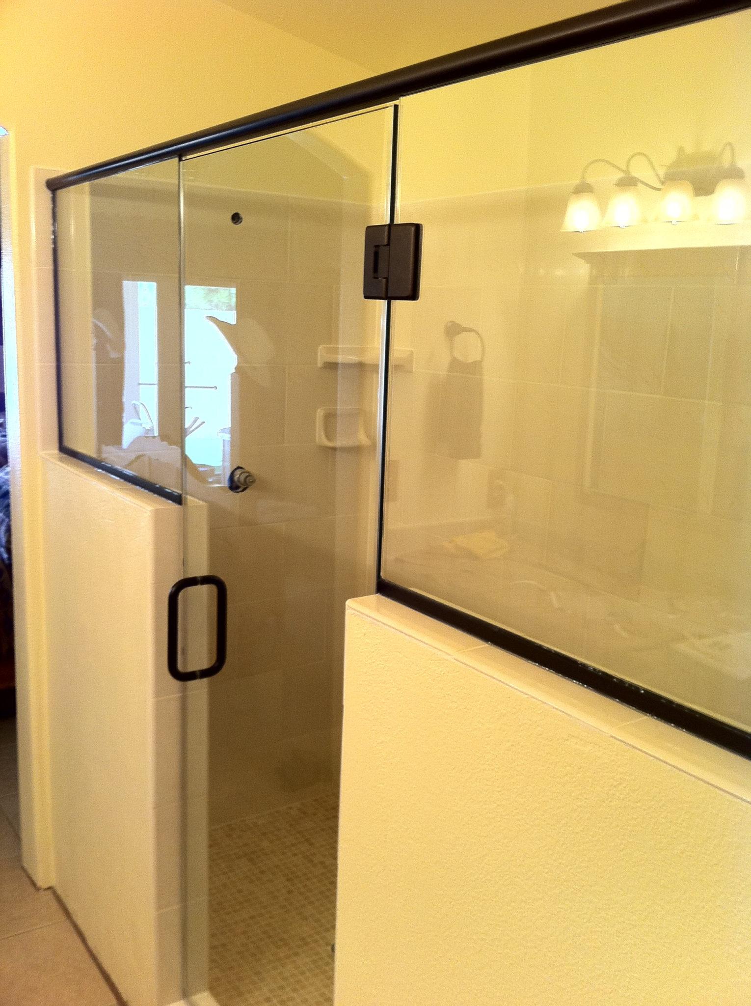 Framed Glass Shower Doors | A Cutting Edge Glass & Mirror