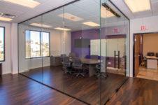 Corner of Glass Wall Addition – A Cutting Edge Glass & Mirror of Las Vegas, Nevada