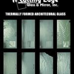 Thermally Formed Custom Glass Door Designs