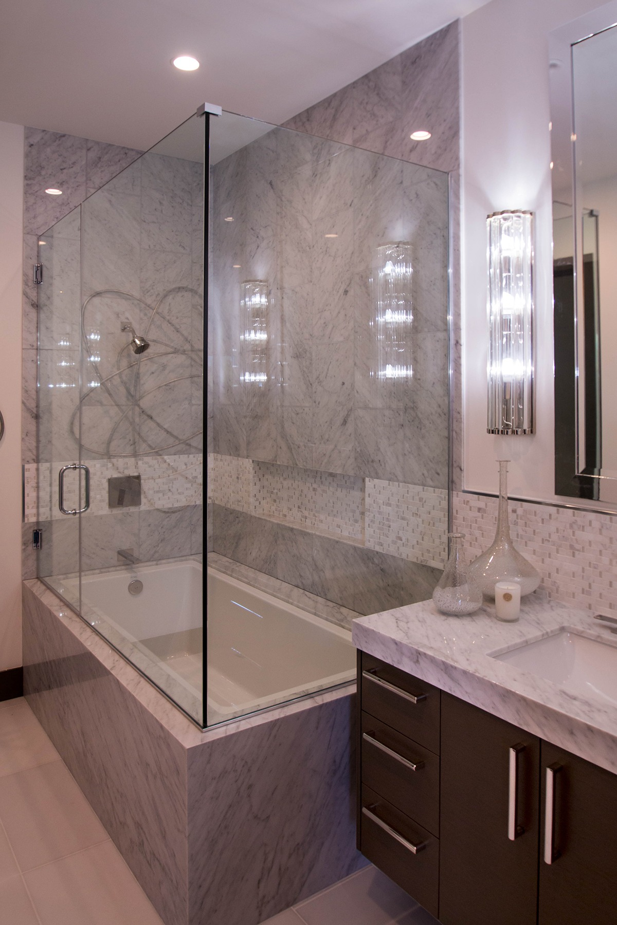 leading frameless company canada and enclosures large shower custom door doors years bathtub for over screens s glass