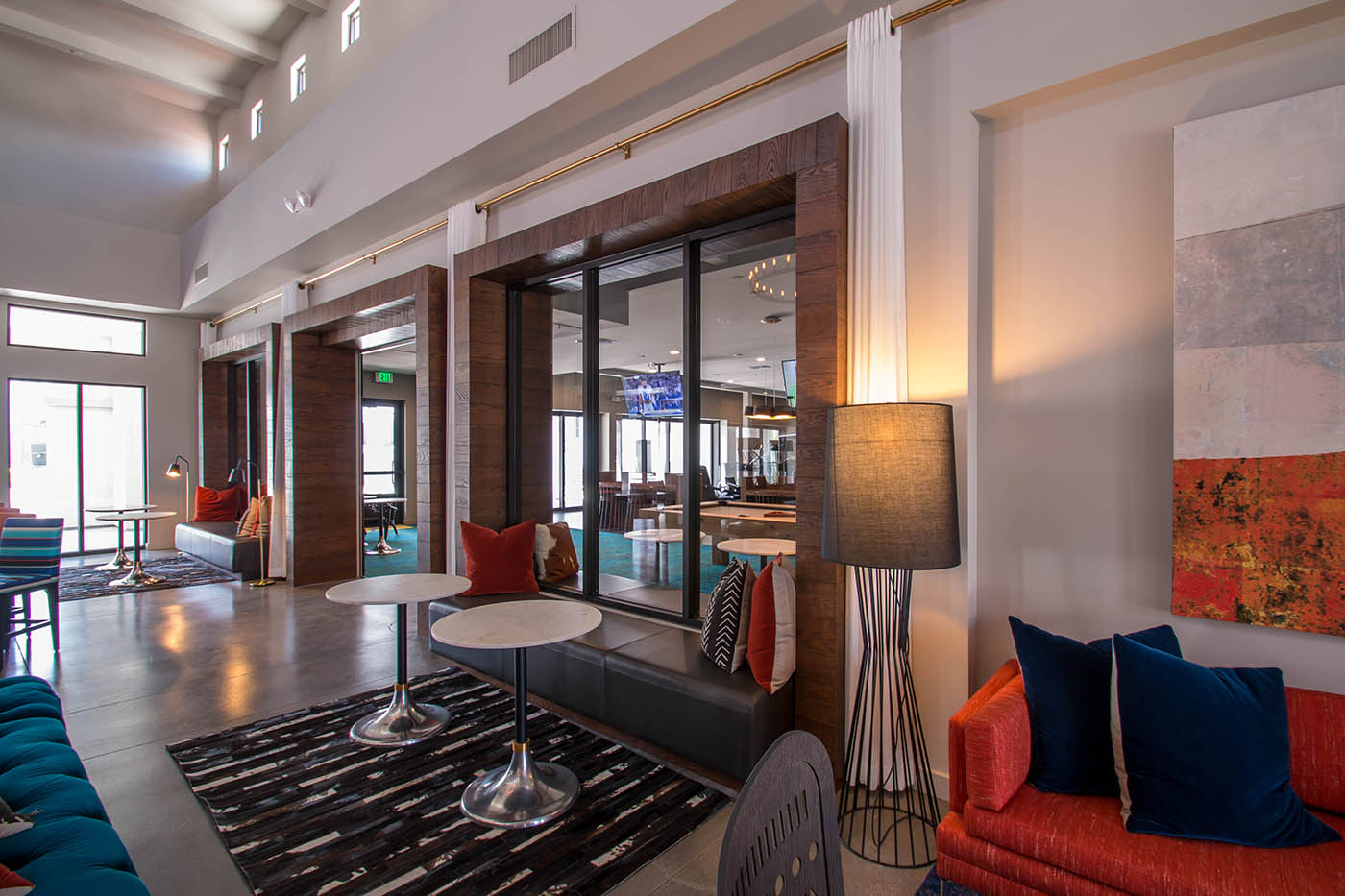 Castile Apartments Clubhouse Located In Henderson Nevada