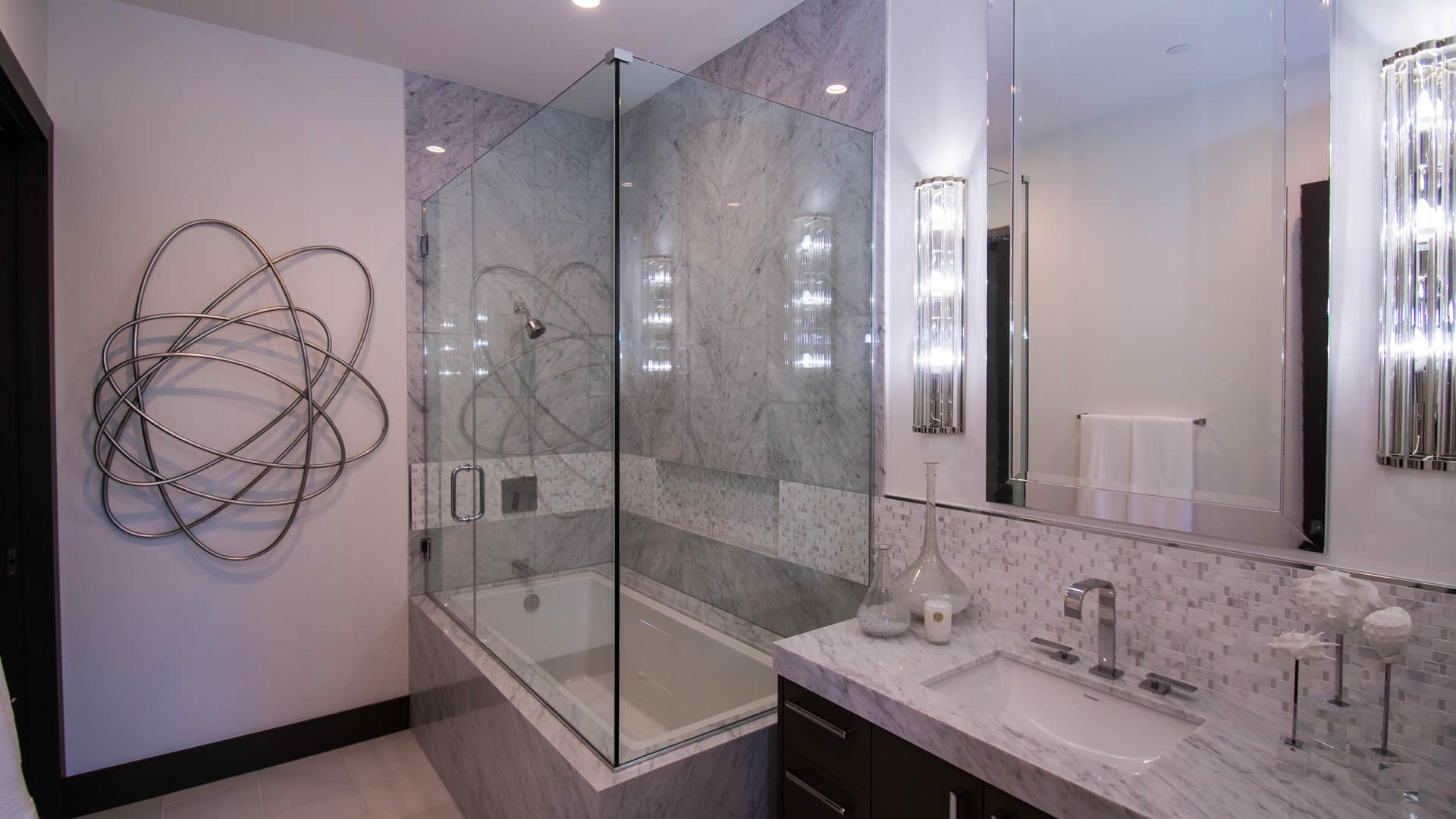 Custom Homes Residential Glass Project | A Cutting Edge Glass & Mirror