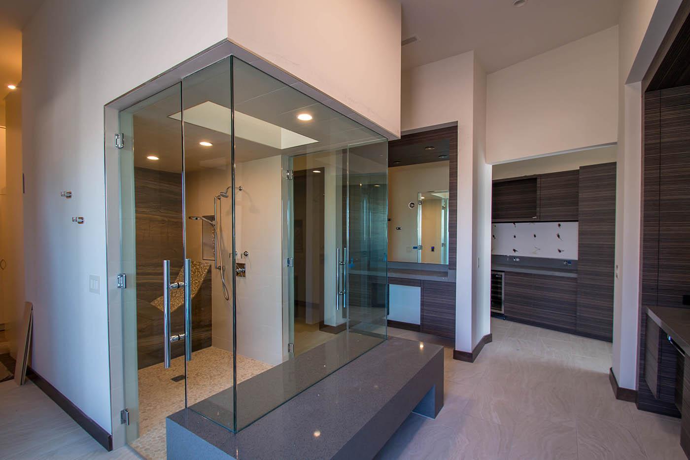 Boulderback Sunwest Custom Home Project | A Cutting Edge Glass & Mirror