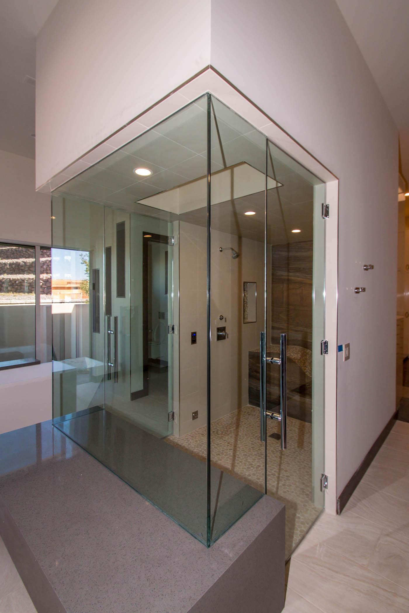 Frameless Glazing Systems : Boulderback sunwest custom home project a cutting edge